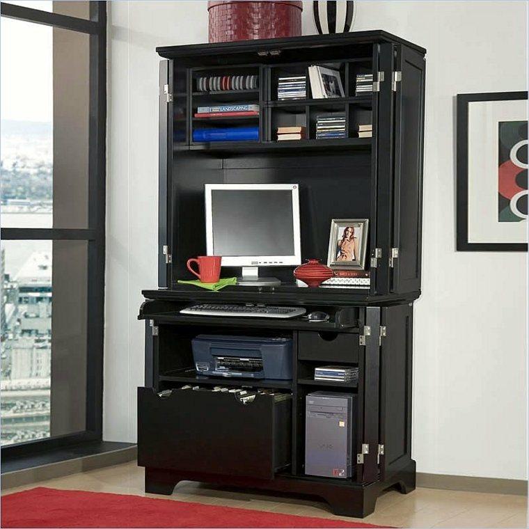 meuble ordinateur avec rangement