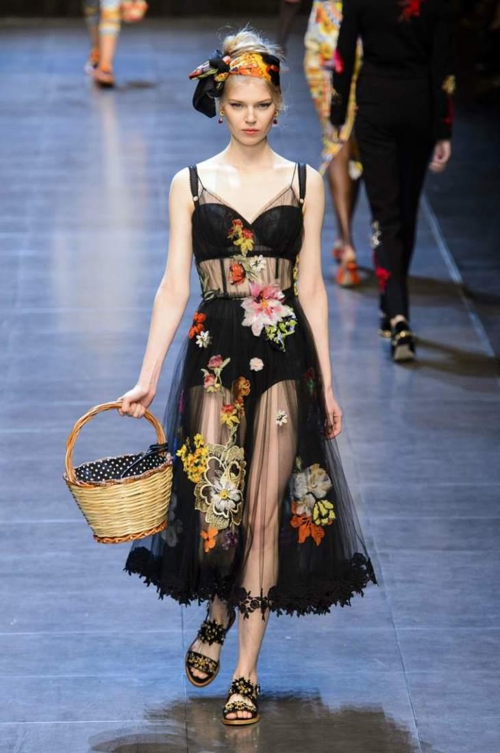 robe elegante Dolce Gabbana