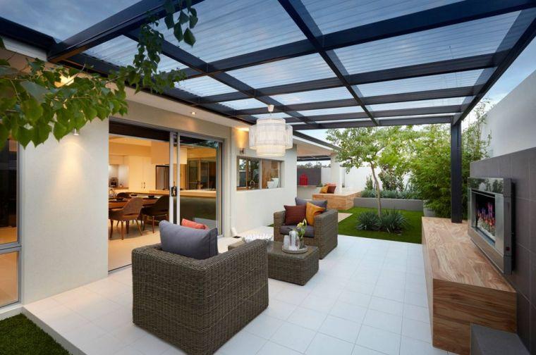 jardin moderne amenagement deco petits espaces