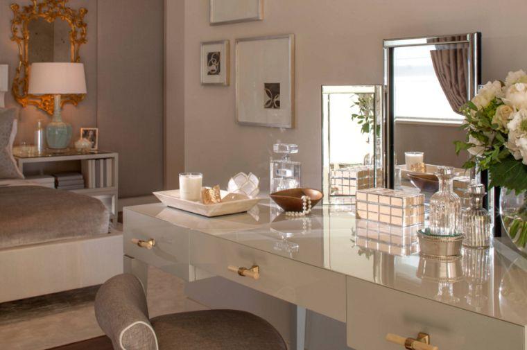 Cheap Meuble Coiffeuse Chambre Deco Luxe With Meuble