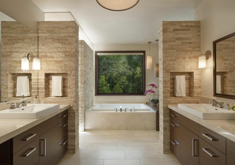 salle de bain travertin la beaute de