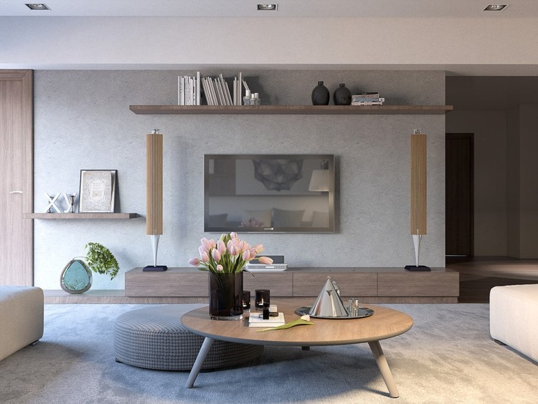 Salon Moderne Trente Exemples Dintrieurs Cratifs