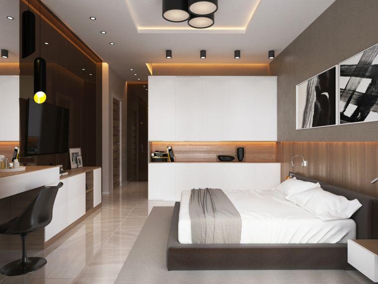 chambre de luxe mobilier deco contemporain