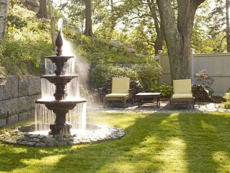 eprenez vous de la fontaine de jardin