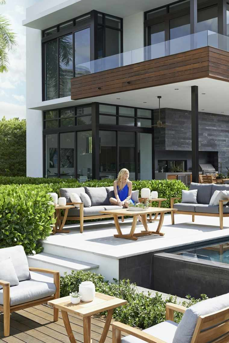 Ide Jardin Et Terrasse Crer Un Salon De Jardin Convivial