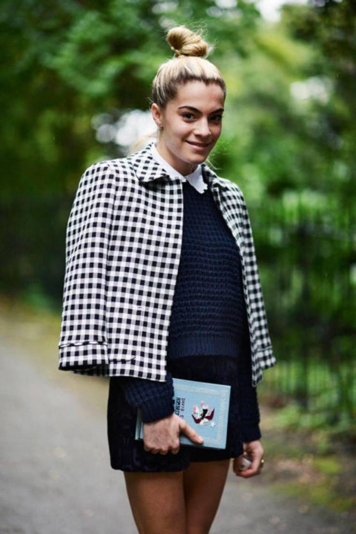 veste femme printemps carreaux idée veste tendance
