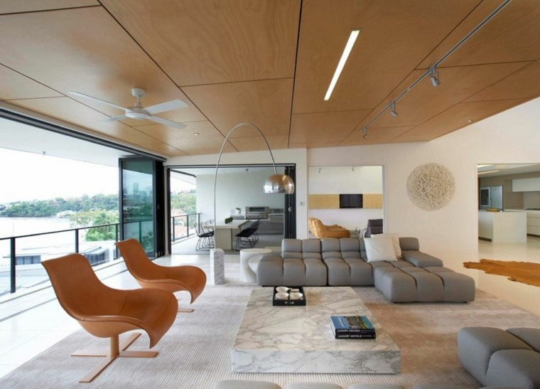 Amazing Idee Dco Plafond Bas Salle De Sejour With