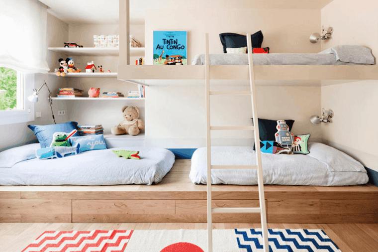 idee deco chambre la chambre enfant partagee 1 30