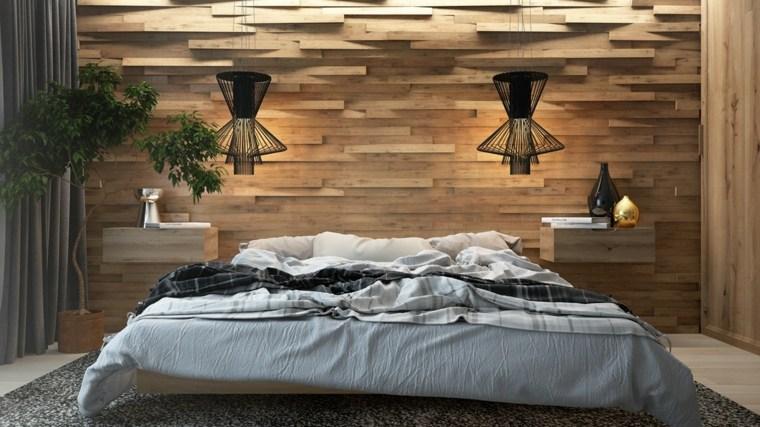 mur en bois pour une deco originale de