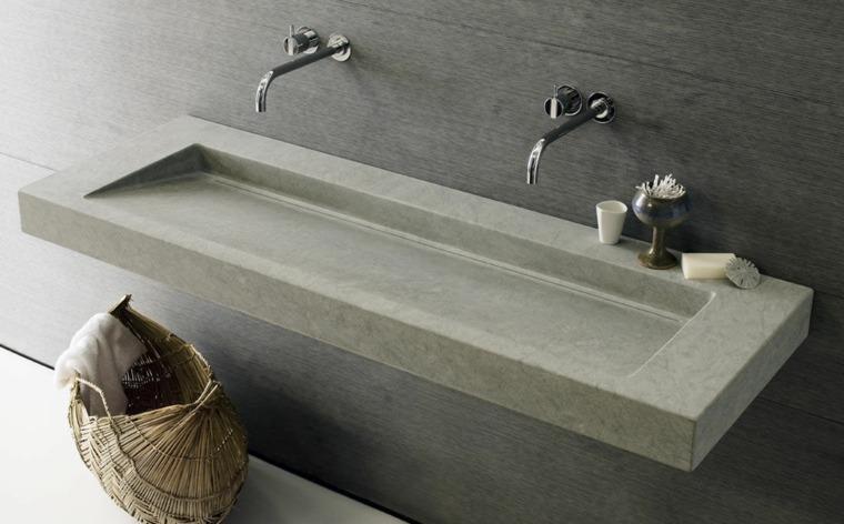Vasque En Pierre Naturelle Pour Une Salle De Bains Moderne