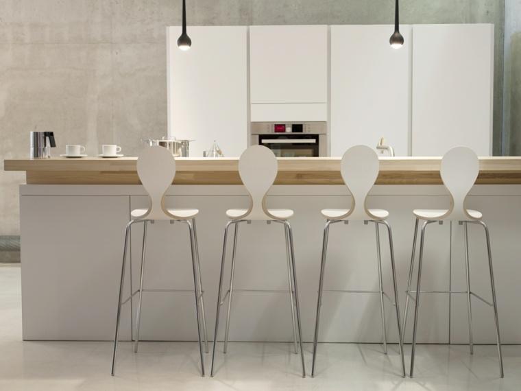 Chaise Plan De Travail Design Pour Bar Et Lot De Cuisine