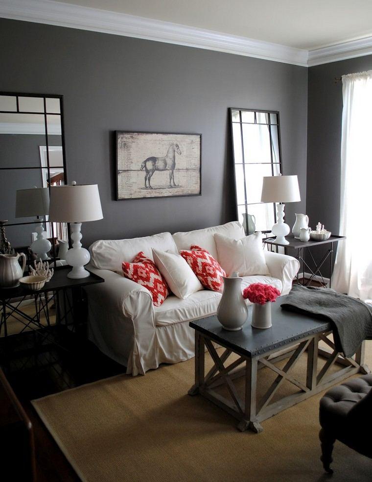 salon couleur taupe gris anthracite ou