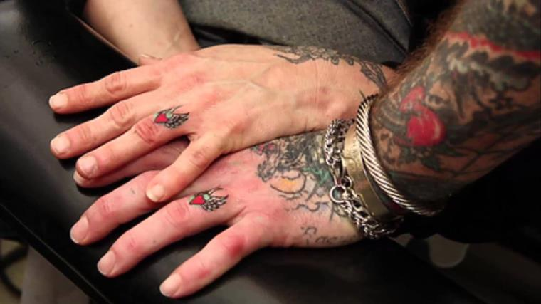 Le Tatouage Doigt Une Nouvelle Tendance Qui Remplace L