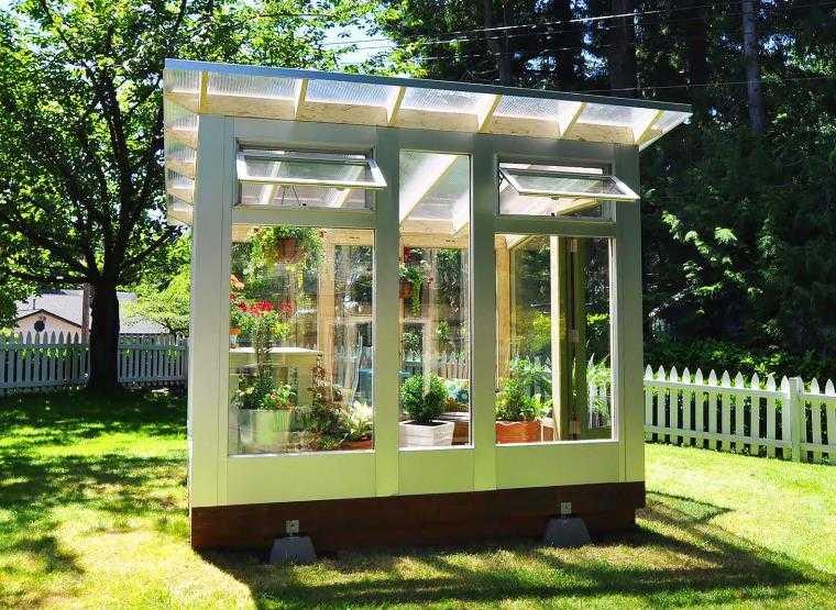 la serre de jardin une solution