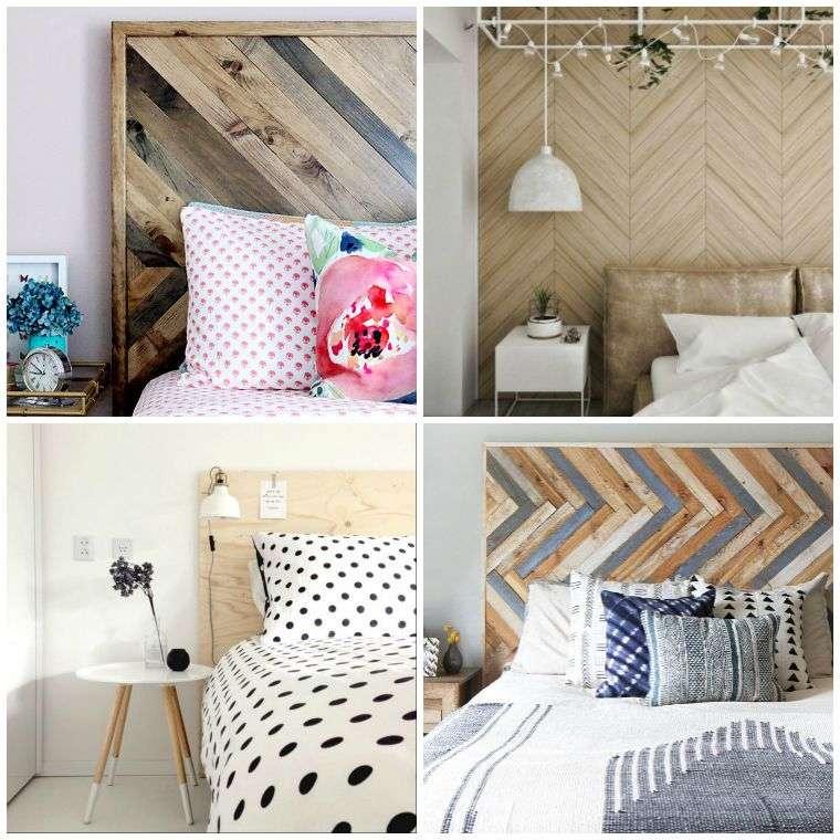 fabriquer une tete de lit bois diy decoration tutoriel
