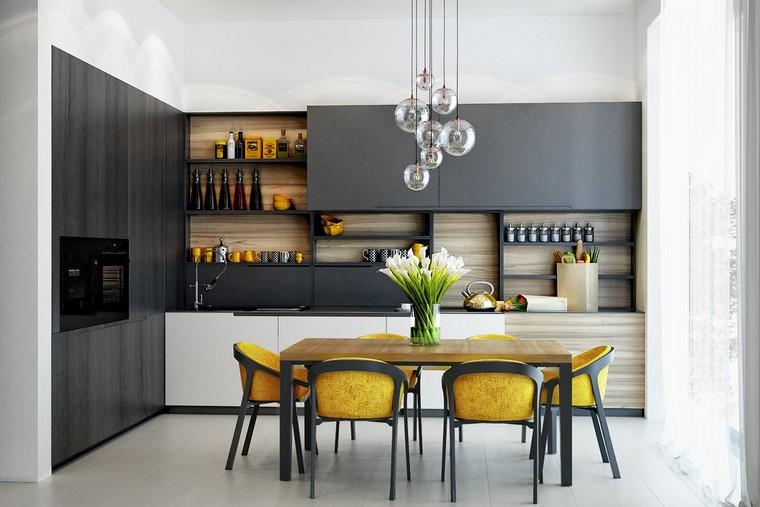 etageres cuisine 35 exemples comment