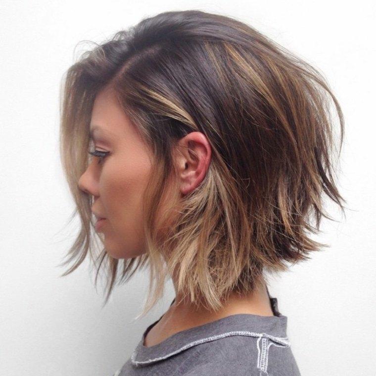 coupe de cheveux degrade elegante a