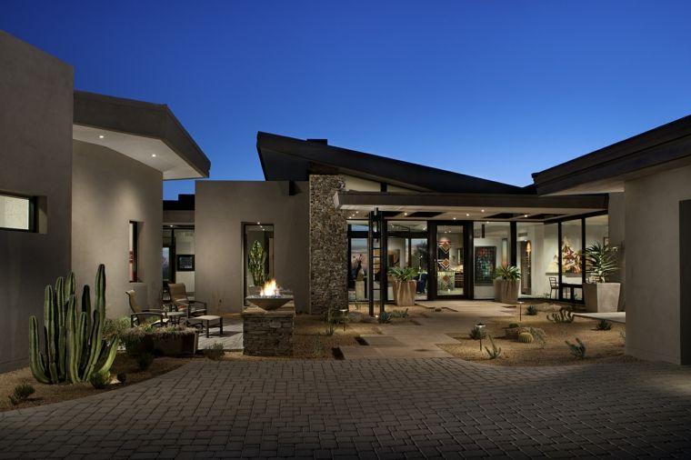 jardin moderne