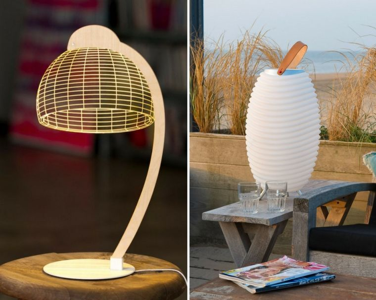 la lampe bulbing et le lampion kooduu