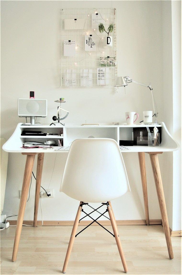 panneau affichage bureau id es pour un espace de travail mieux chaise de bureau confort style avec deco mur effet pierre