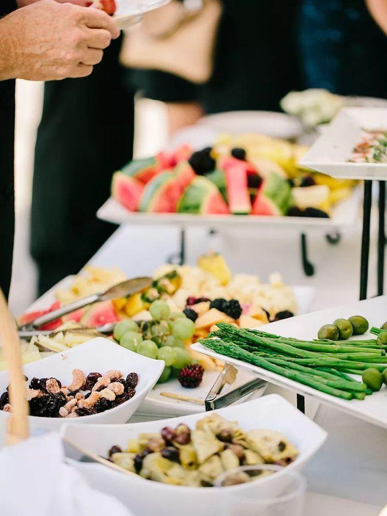 buffet mariage vin d honneur apero