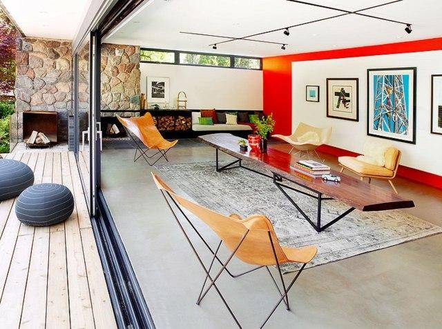 Maison Avec Piscine Avec Une Dco Des Annes 60