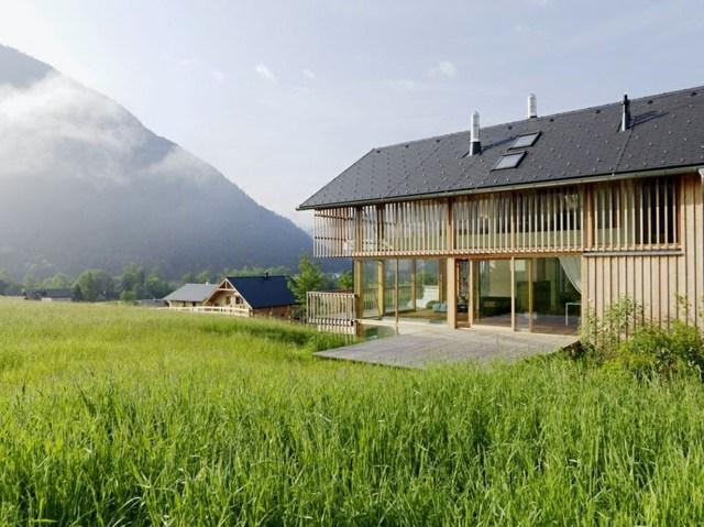 Une Belle Maison De Campagne Dans Les Alpes DAutriche