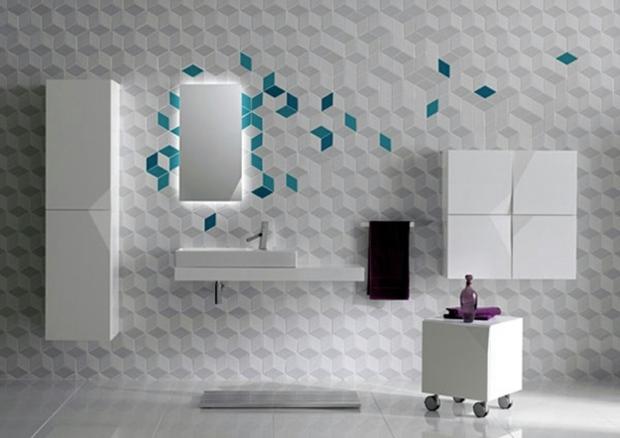 Le Carrelage Mural Salle De Bain Comme Decoration Moderne