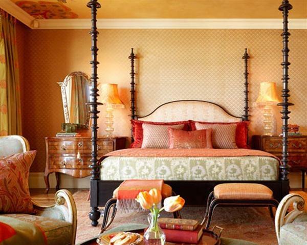 chambre design marocain ornements meubles