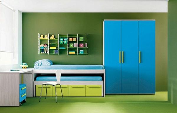 Pour Votre Intrieur De Design Vert Et Bleu