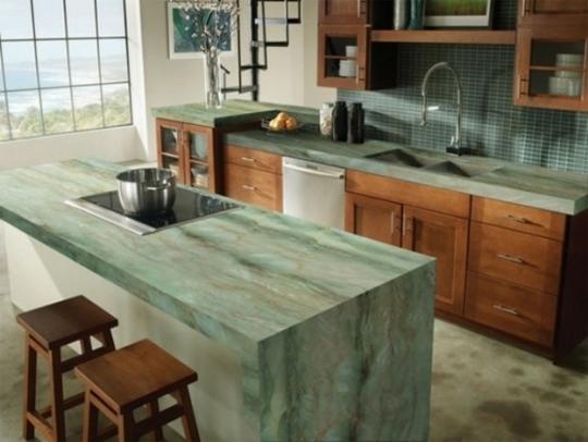 30 comptoirs de cuisine de design unique 14 30