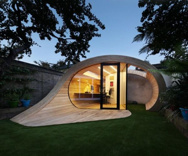 abri de jardin de design convivial et