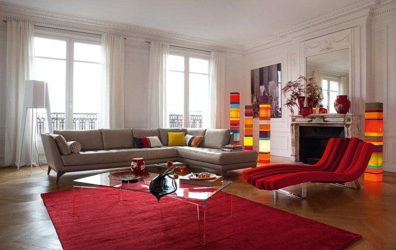 divans modernes roche bobois
