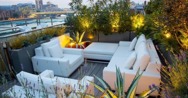 Le Jardin Sur Toit Un Espace De Relax Et Dtente