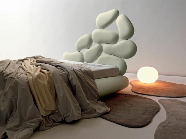 lit double moderne pour votre chambre