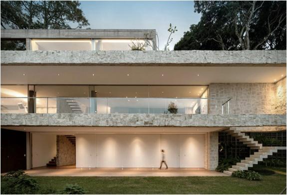 Maison Spectaculaire Moderne Rio De Janeiro