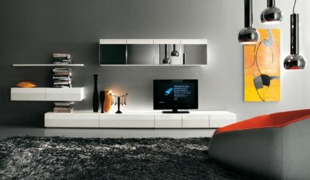 17 designs contemporains de meuble tv