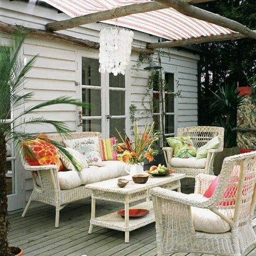 La Terrasse Style Rustique En 35 Formidables Exemples