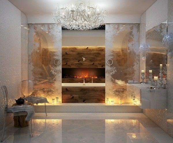 modele salle de bain de luxe quelques