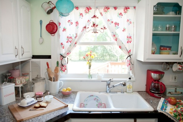 25 rideaux cuisine pour une atmosphere