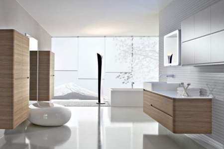 Huis inrichten 2019 » meuble salle de bain design bois | Huis inrichten