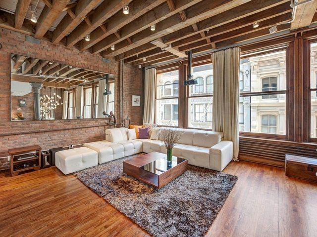 Un Loft New Yorkais Clectique Rustique Et Dbordant De