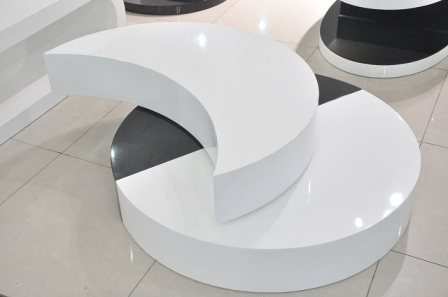 Table Basse Ronde Style Et Lgance Dans Salon 30 Ides