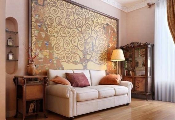 Le Tableau De Peinture Dcoration Dans Le Design Dintrieur