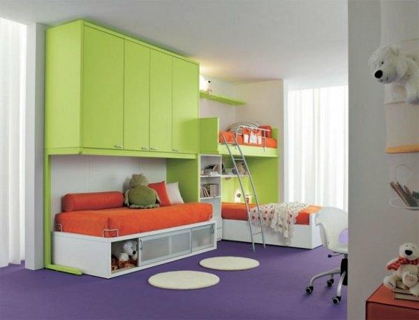 Vert Et Violet Combinaison De Couleurs Tendance Pour