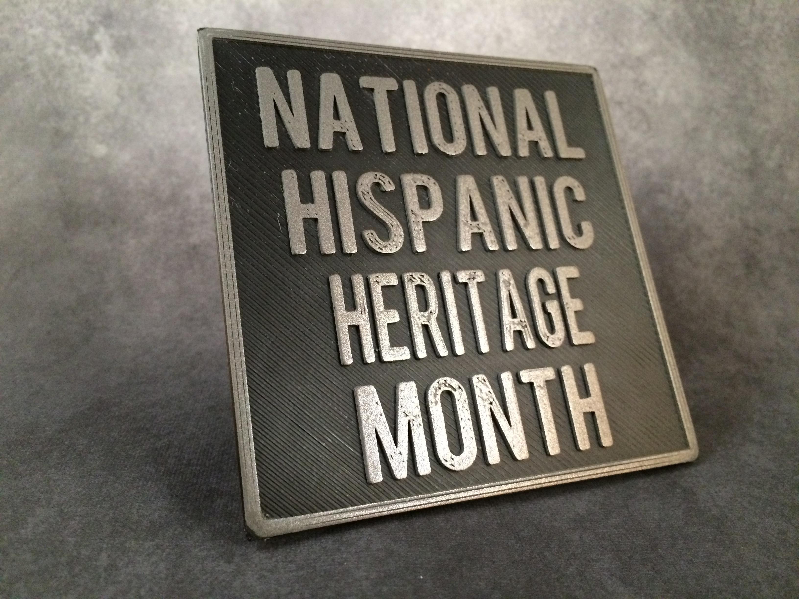 National Hispanic Heritage Month Begins
