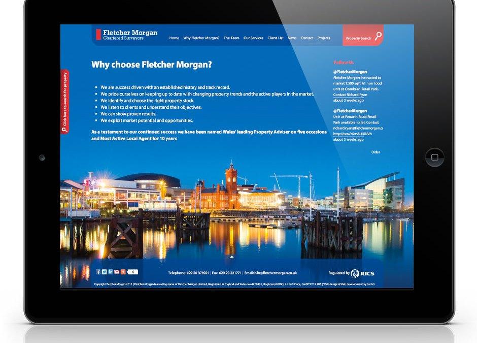 Fletcher Morgan Website