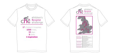 Children's Hospital Challenge T-Shirt Design