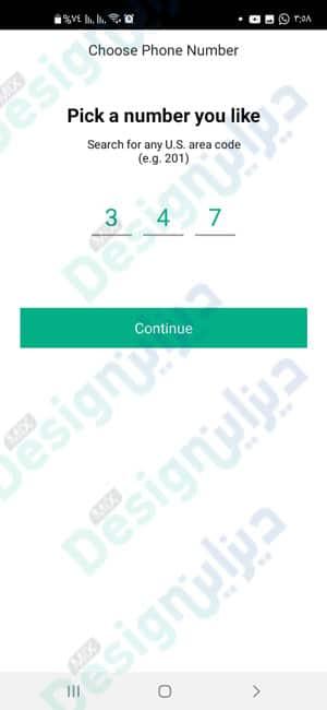 الحصول على رقم أمريكي لتفعيل واتساب Whatsapp عبر برنامج 2ndline مجانا