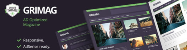 Grimag, an Ad Optimized WordPress Theme That Will Keep Ad Blockers Away